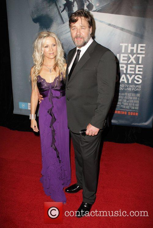 Russell Crowe and Danielle Spencer 4