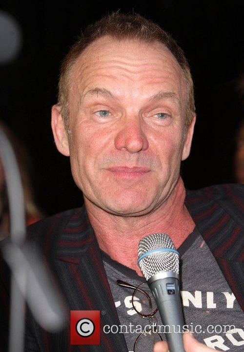Sting The Australian premiere of 'Next Three Days'...