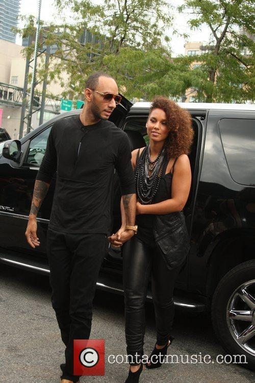 Alicia Keys and New York Fashion Week 7