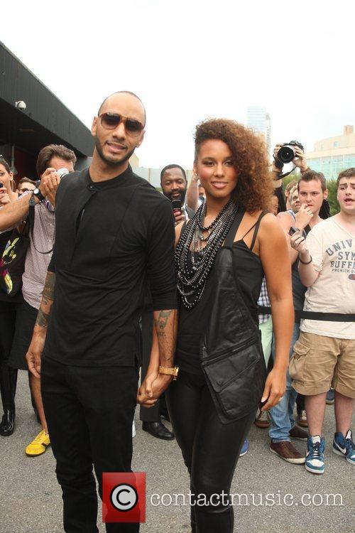 Alicia Keys and New York Fashion Week 2