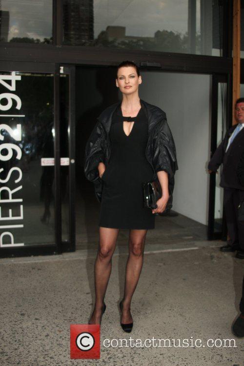 Linda Evangelista and New York Fashion Week 1
