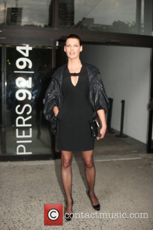 Linda Evangelista and New York Fashion Week 2
