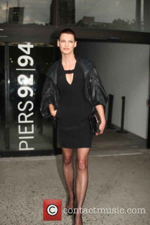 Linda Evangelista and New York Fashion Week 3