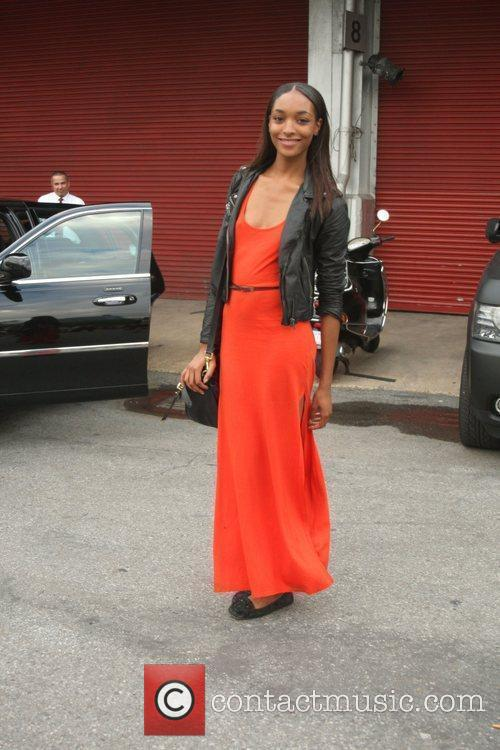 Jourdan Dunn and New York Fashion Week 4