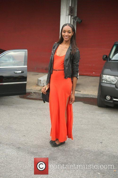 Jourdan Dunn and New York Fashion Week 2