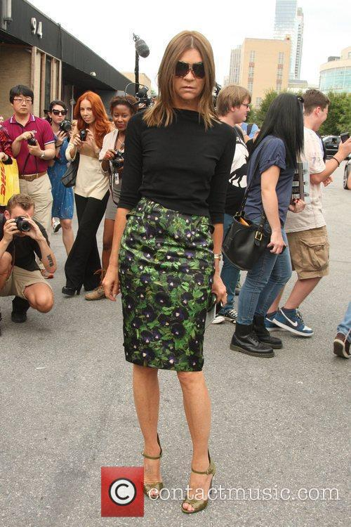 Carine Roitfeld and New York Fashion Week 4