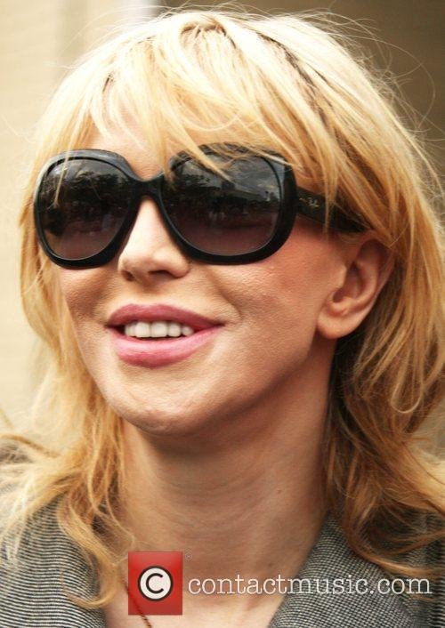 Courtney Love Mercedes-Benz New York Fashion Week Spring/Summer...