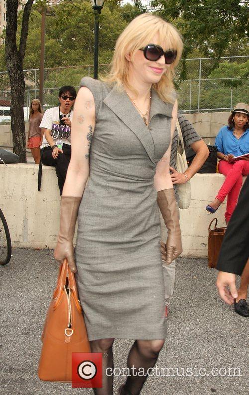Courtney Love  Mercedes-Benz New York Fashion Week...