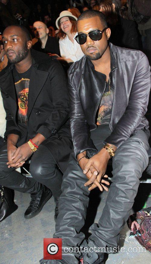 Kanye West Mercedes-Benz IMG New York Fashion Week...