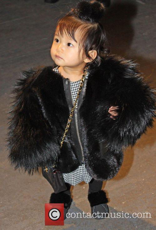 Alila Wang Mercedes-Benz IMG New York Fashion Week...