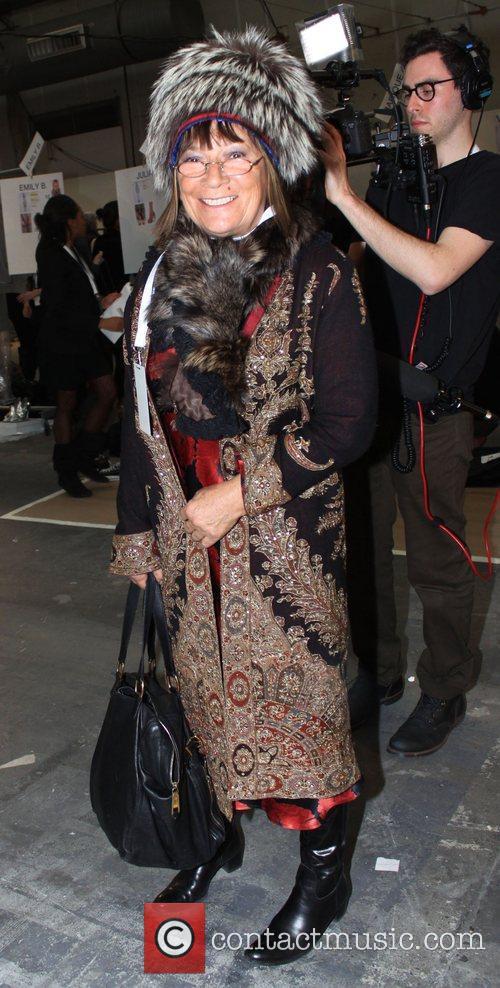 Hilary Alexander Mercedes-Benz IMG New York Fashion Week...