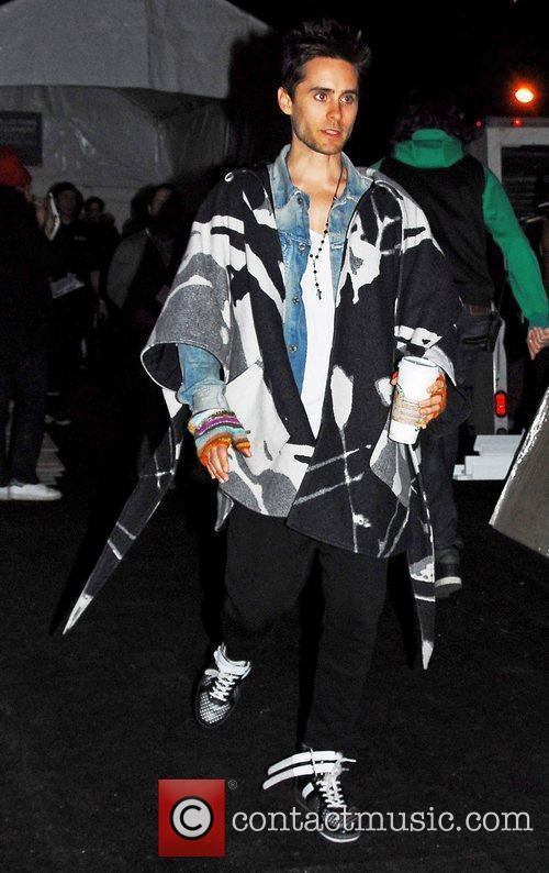 Jared Leto Mercedes-Benz IMG New York Fashion Week...