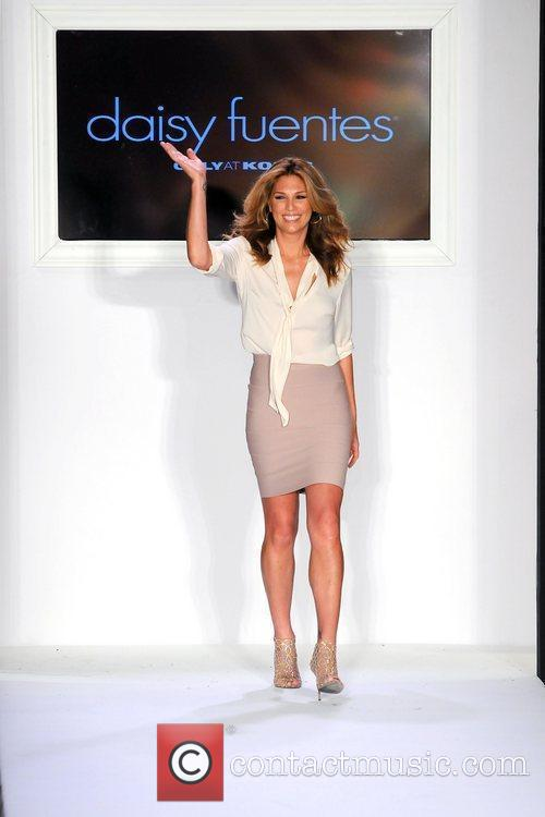 Daisy Fuentes and New York Fashion Week 1