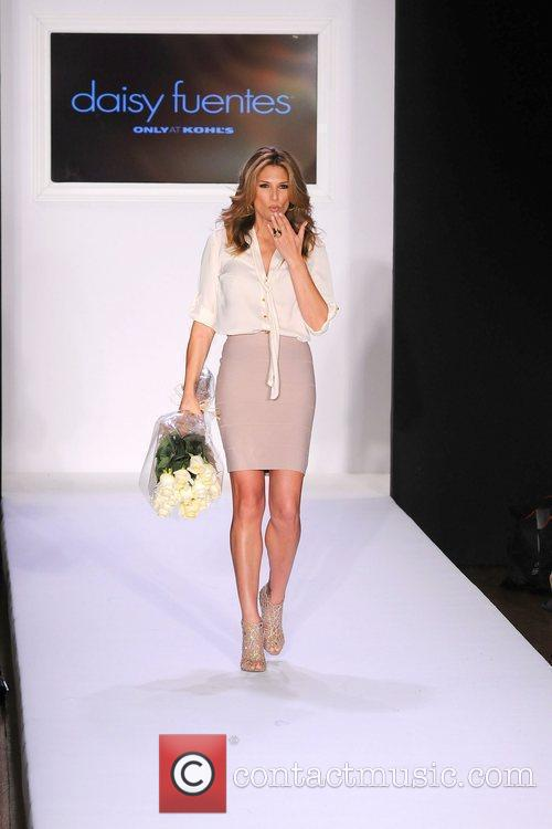 Daisy Fuentes and New York Fashion Week 2
