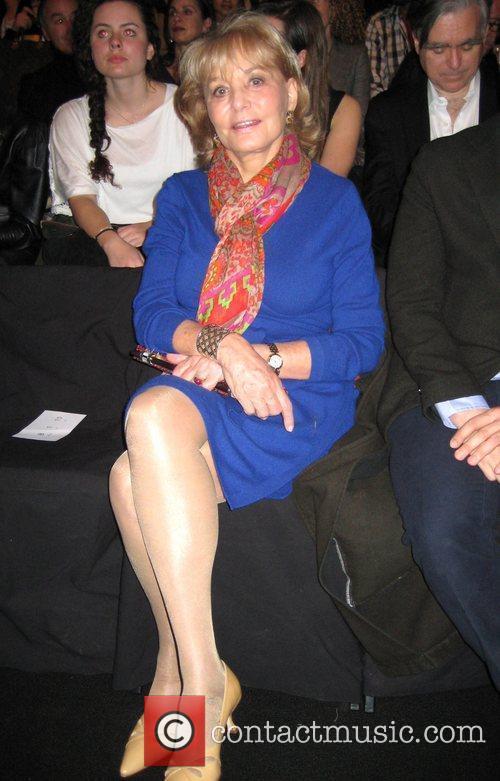 Barbara Walter Mercedes-Benz IMG New York Fashion Week...