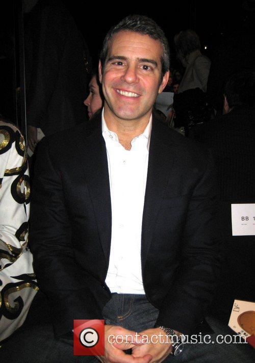 Andy Cohen Mercedes-Benz IMG New York Fashion Week...