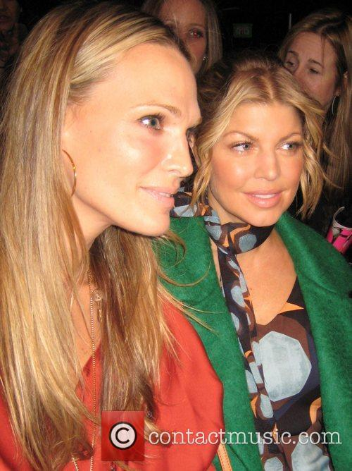 Molly Sims and Fergie Mercedes-Benz IMG New York...