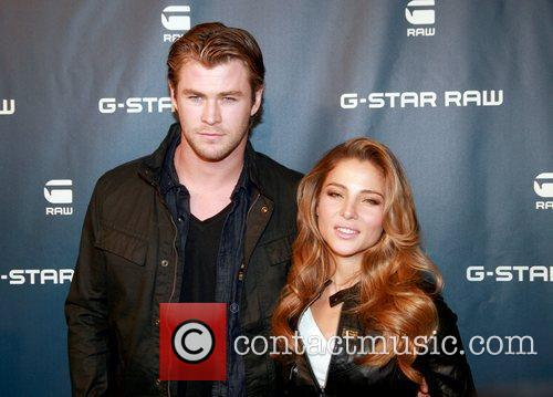 Chris Hemsworth and Elsa Pataky Mercedes-Benz IMG New...