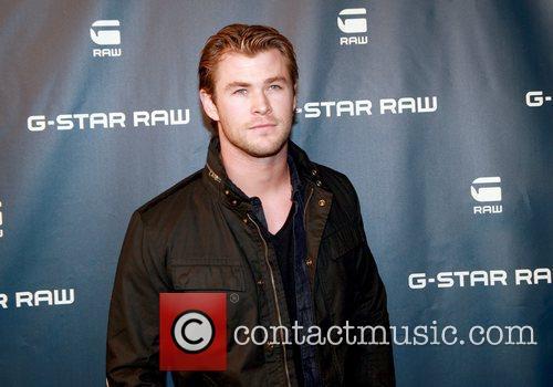 Chris Hemsworth Mercedes-Benz IMG New York Fashion Week...