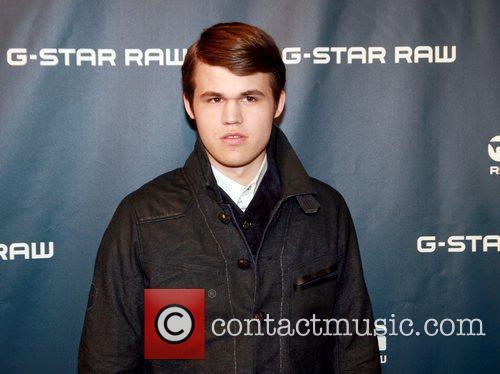 Magnus Carlsen Mercedes-Benz IMG New York Fashion Week...