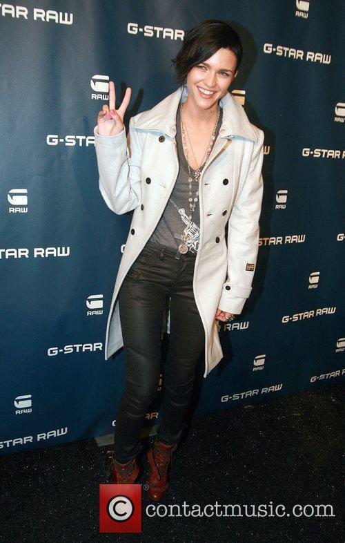 Ruby Rose Mercedes-Benz IMG New York Fashion Week...