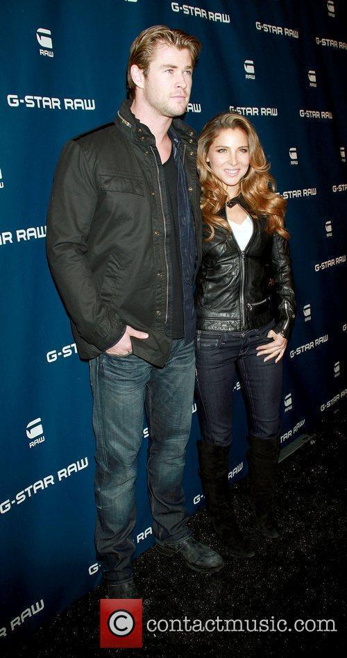 Chris Hemsworth, Elsa Pataky,  Mercedes-Benz IMG New...