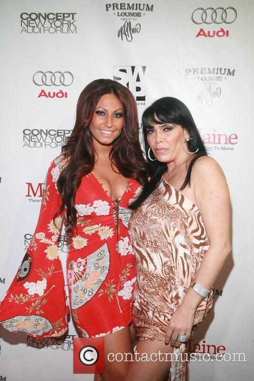Jerseylicious' Tracy DiMarco and VH-1 Mob Wives' Rene...