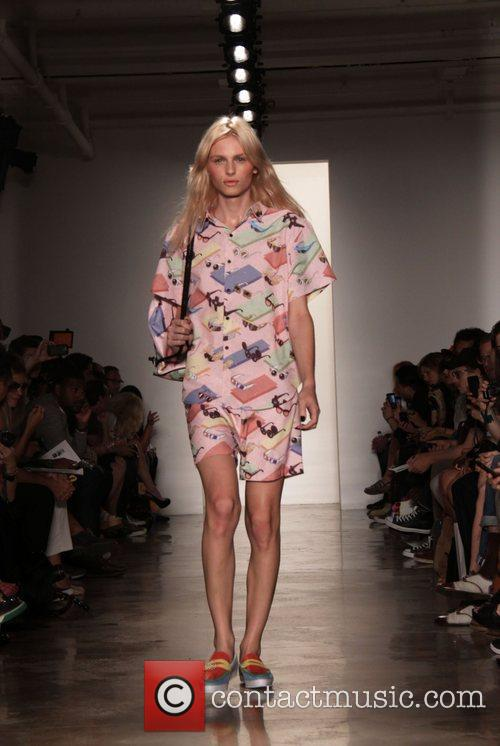 At the New York Mercedes-Benz Fashion Week Spring...
