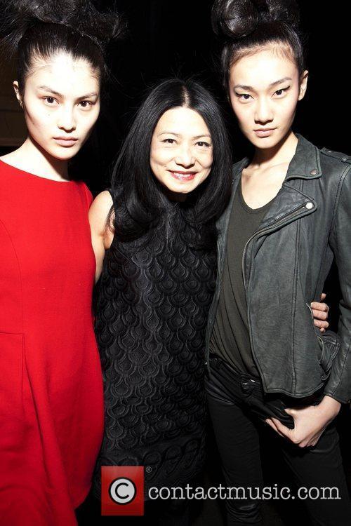 Designer Vivienne Tam and Models Mercedes-Benz IMG New...