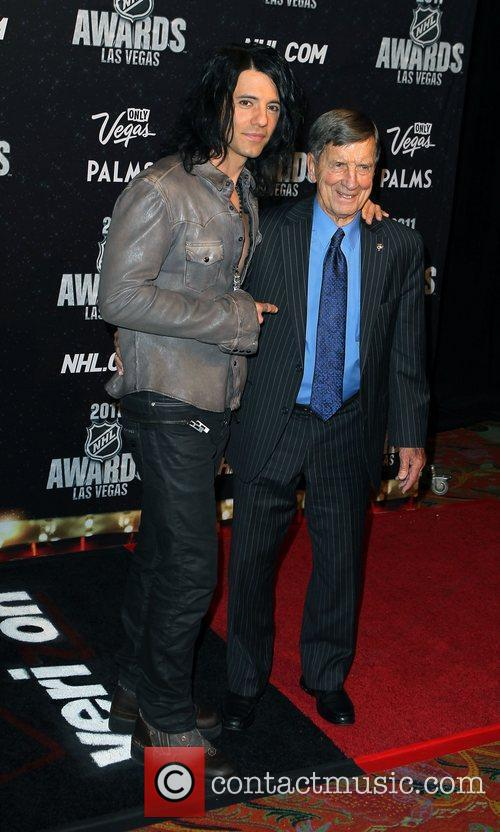 Criss Angel and Ted Lindsay The NHL Awards...