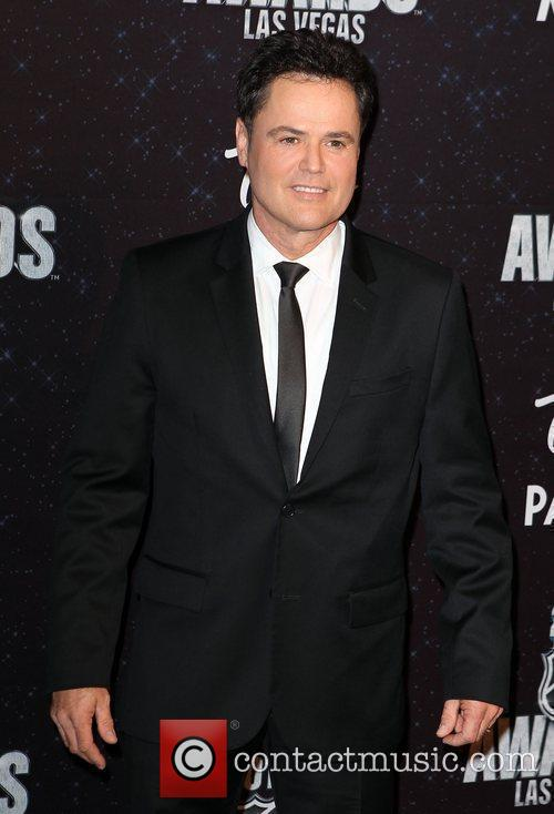 Donny Osmond The NHL Awards 2011 at The...