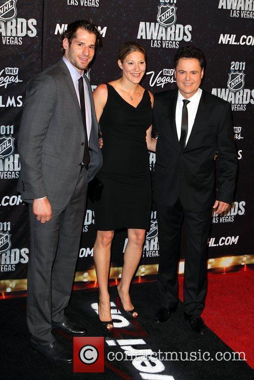 Ryan Kesler and Donny Osmond The NHL Awards...
