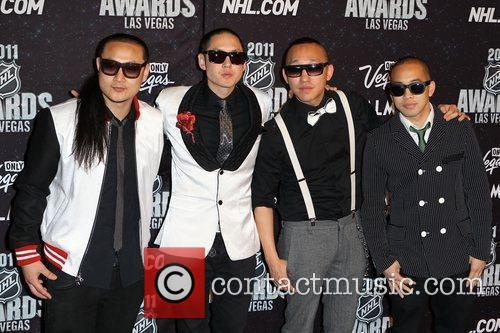 Far East Movement The NHL Awards 2011 at...