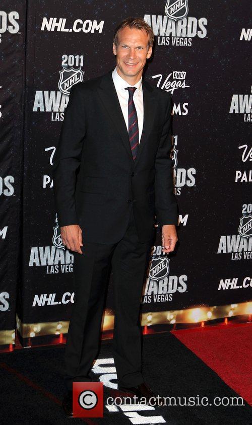 Nicklas Lidstrom The NHL Awards 2011 at The...