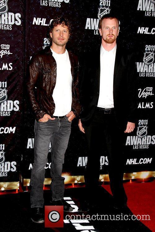Dierks Bentley, Daniel Sedin  The NHL Awards...