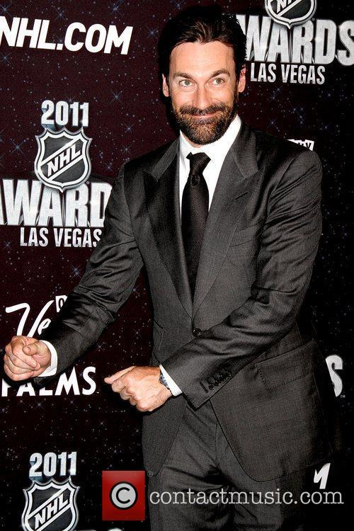 Jon Hamm  The NHL Awards 2011 at...