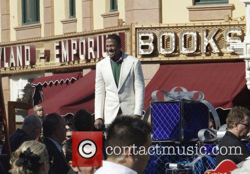 nick cannon filming for the christmas day 3593840
