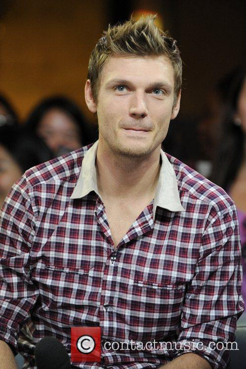 Nick Carter  visits Much Music's New.Music.Live to...