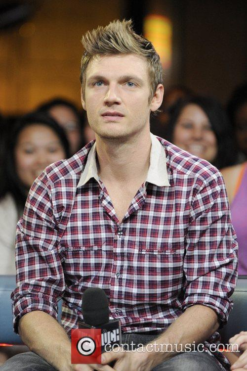 Nick Carter visits Much Music's New.Music.Live to.