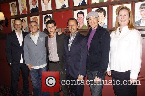 Katie Price, Craig Zadan, Nick Jonas and Rob Ashford 1