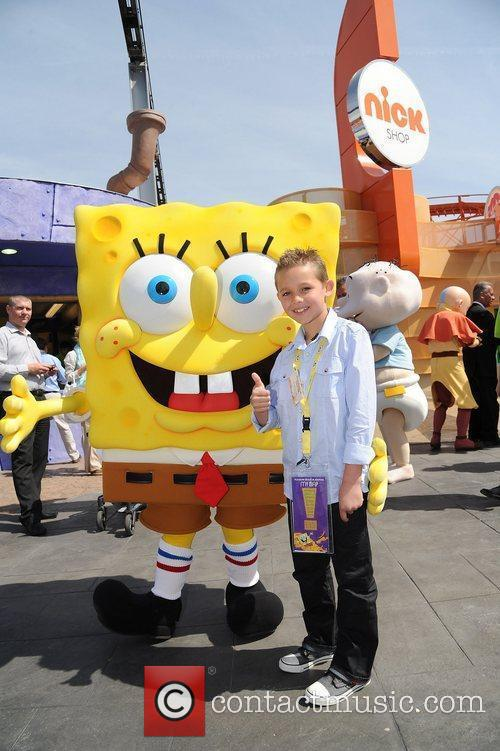 The launch of Nickelodeon Land at Blackpool Pleasure...