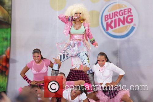 Nicki Minaj  performs on ABC's 'Good Morning...