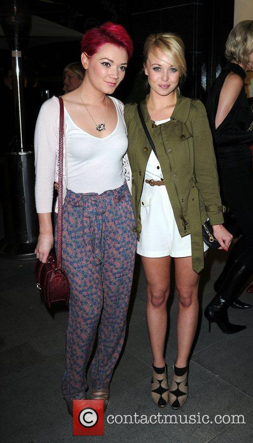 Hollie-Jay Bowes and Jorgie Porter (right),  at...