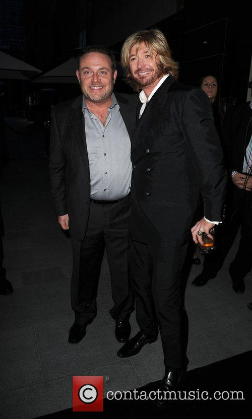 John Thomson and Nicky Clarke,  at the...