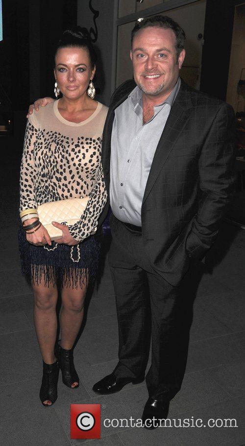 John Thomson and wife Samantha Sharp,  at...