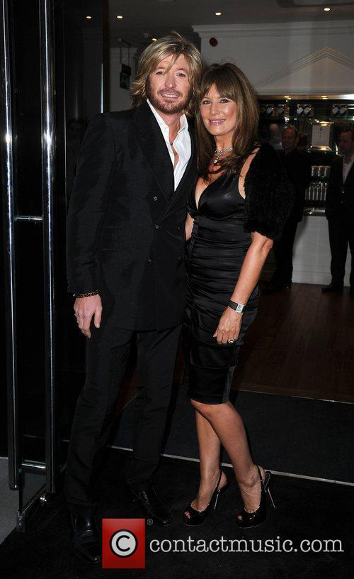 Nicky Clarke and Leslie Clarke,  at the...