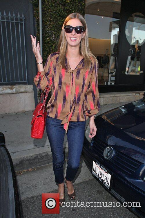 Nicky Hilton  is seen looking very chic...