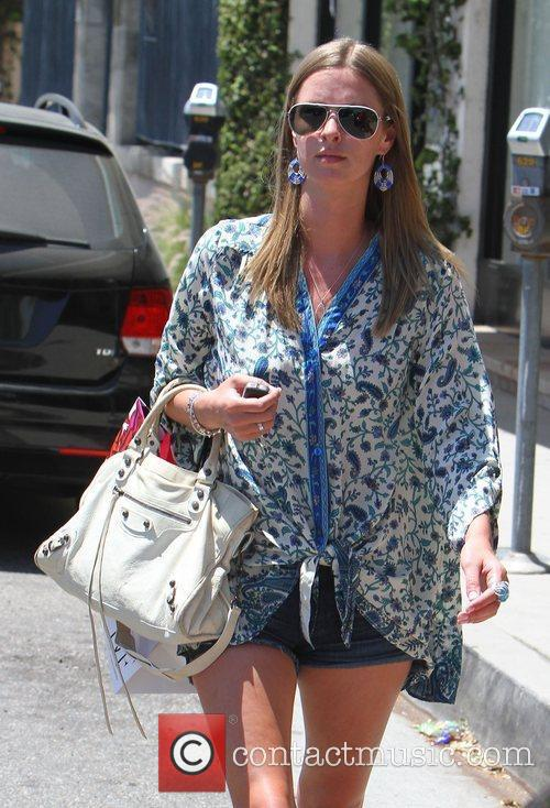 Nicky Hilton out shopping in West Hollywood wearing...