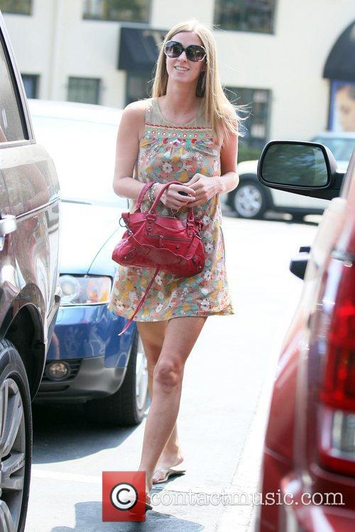 Nicky Hilton  exits Drybar in West Hollywood...