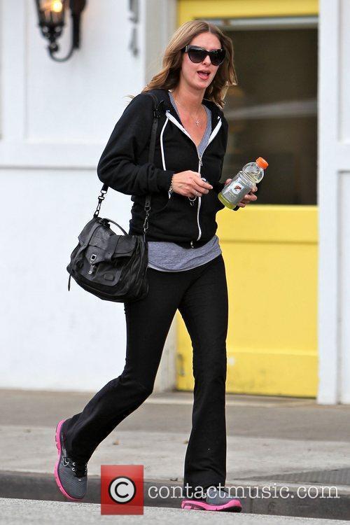 Nicky Hilton leaving Byron & Tracey salon in...